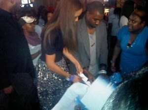 Selita Ebanks, Kanye West