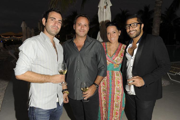 Mike ?, Dirk Desouza, Ursula Damani, Akbar Hamid