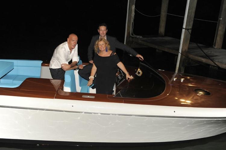 Mauro Micheli, Sergio Beretta, Lia Riva-Ferrarese