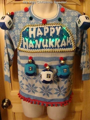 Quot Best 2k I Ever Spent Quot Presenting The Ugly Hanukkah Sweater