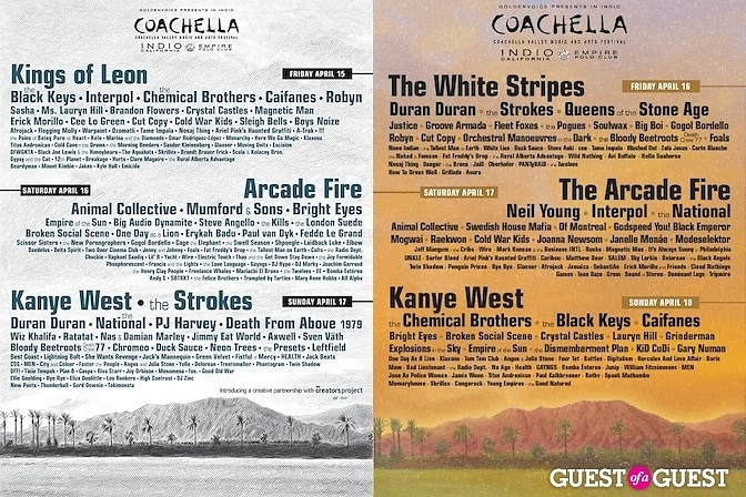 Coachella 2011 flyers