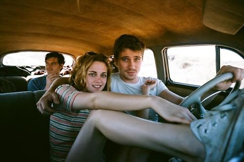 On The Road, Kristen Stewart, Garrett Hedlund and Sam Riley