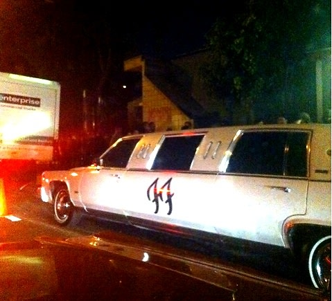 Foo Fighters Limo