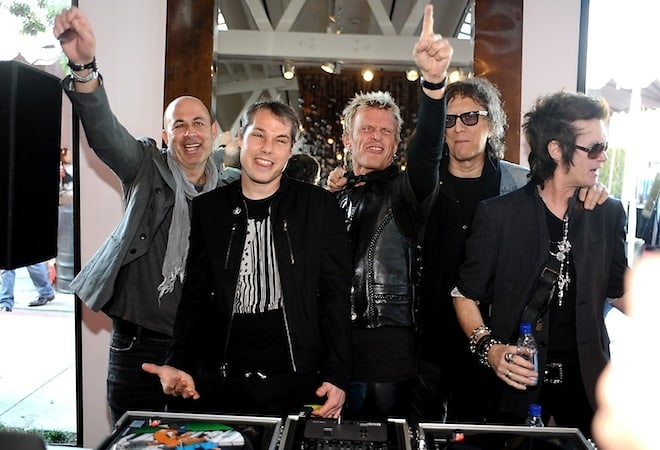 John Varvatos, Shepard Fairey, Billy Idol, Mick Rock, Glenn Hughes
