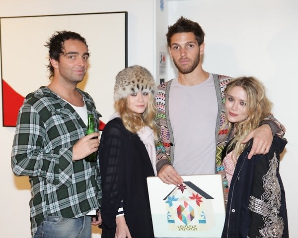 Andy Valmorbida, Ashley Olsen, PC Valmorbida, Mary Kate Olsen