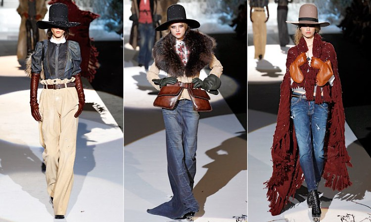 Wild Wild West at DSquared