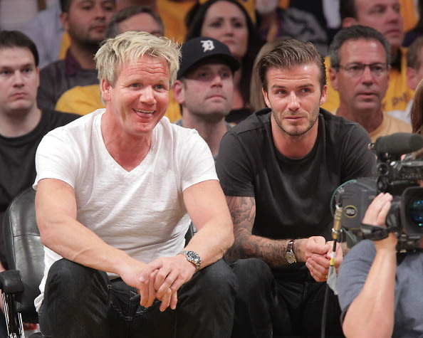 Gordon Ramsey, David Beckham