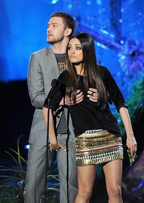 Justin Timberlake Says Naked Picture on Mila Kunis Phone