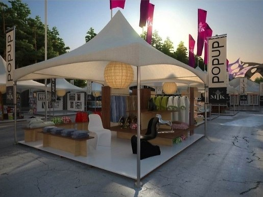 Pop Up Shopping At Music To Know Festival