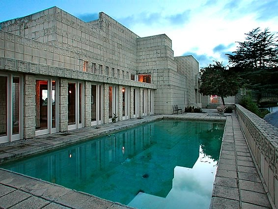 Ron Burkle Swoops Up Frank Lloyd Wright's Ennis House For