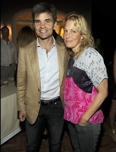 George Stephanopoulos, Ali Wentworth.