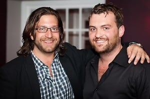 One Lounge Co-Owners Niko Papademetriou and Seth McClelland