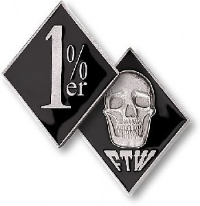 The original one percenters and why you do not want to f for Ftw tattoo meaning