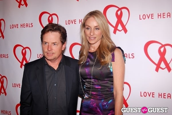 Love heals 20th anniversary gala for Michael j fox and tracy pollan love story