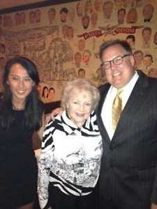 Betty White at The Palm