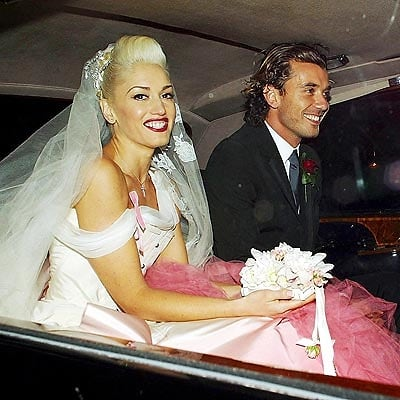 Jessica Biels Colorful Wedding Gown And Other Celebrity Brides
