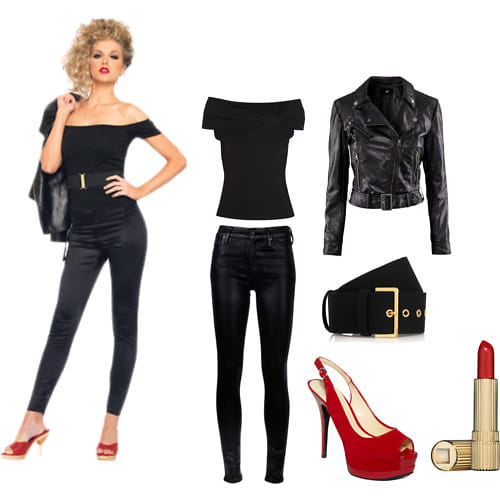 marvelous grease girl outfit