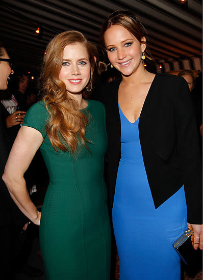 Remarkable, Amy adams and jennifer lawrence