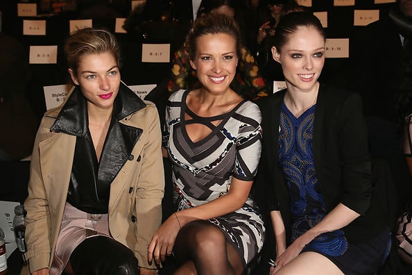 Nyfw 2013 15 Front Row Front Runners