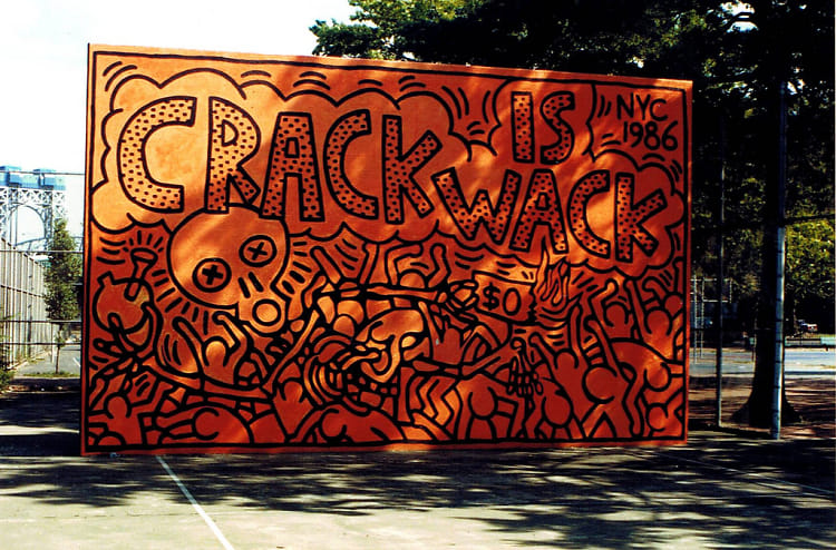 10 spots to see new york city street art for Crack is wack mural