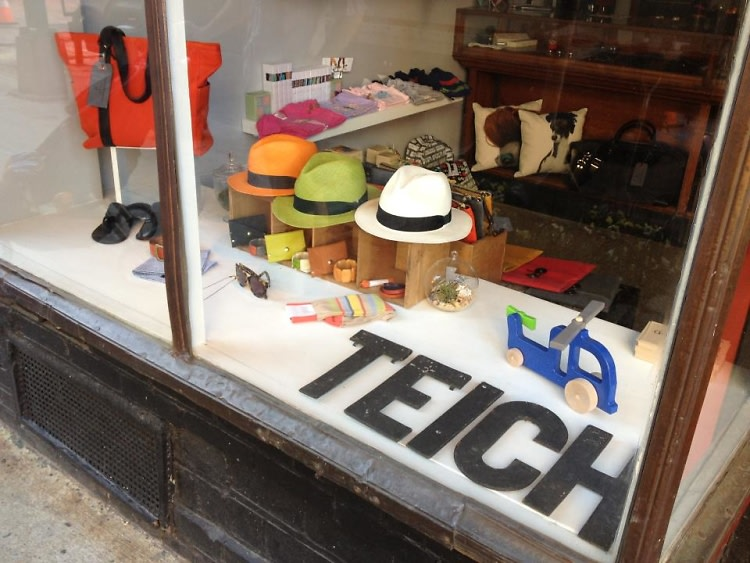 8 eco friendly nyc boutiques in honor of earth day 2013 for Teich design new york