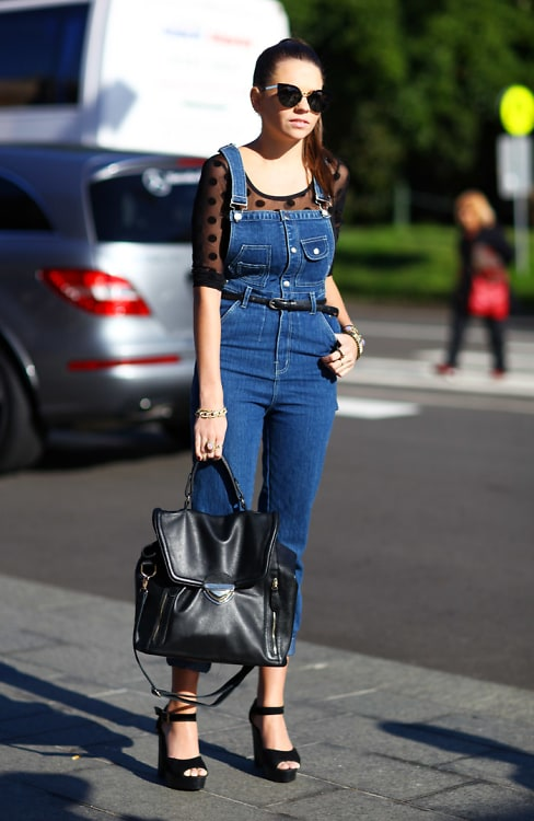 Street Style Trend 6 Ways To Wear Overalls This Spring