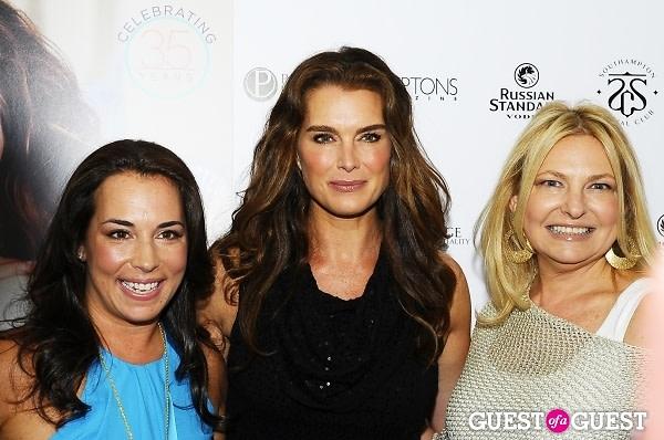 Samantha Yanks, Brooke Shields, Debra Halpert