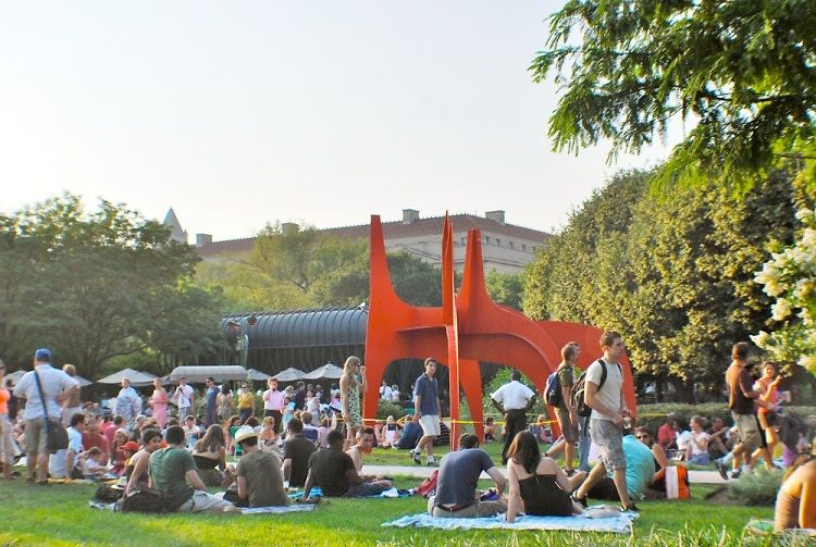 Jazz In The Sculpture Garden Concert Series Returns This Friday