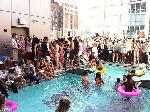 Hotel Gansevoort Park Avenue Pool
