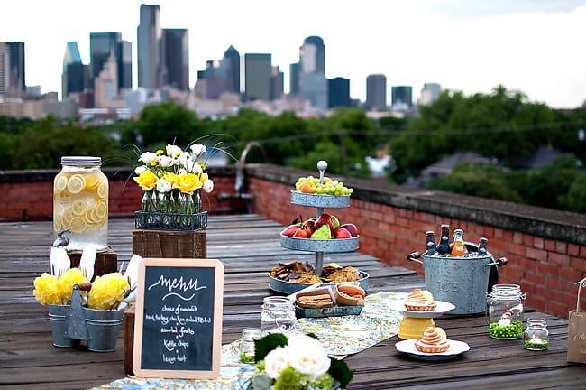 NYC Rooftop Picnic