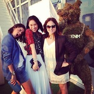 Leandra Medine, Eva Chen, Rachel Strugatz