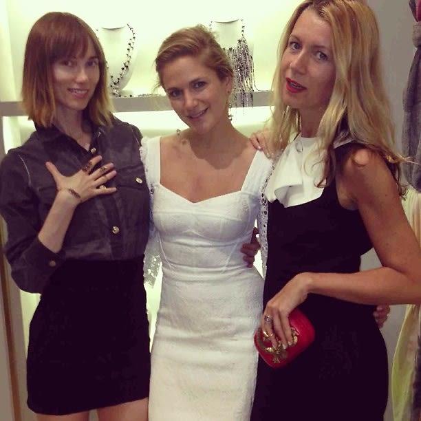 Anya Ziourova, Claire Distenfeld, Natalie Joos