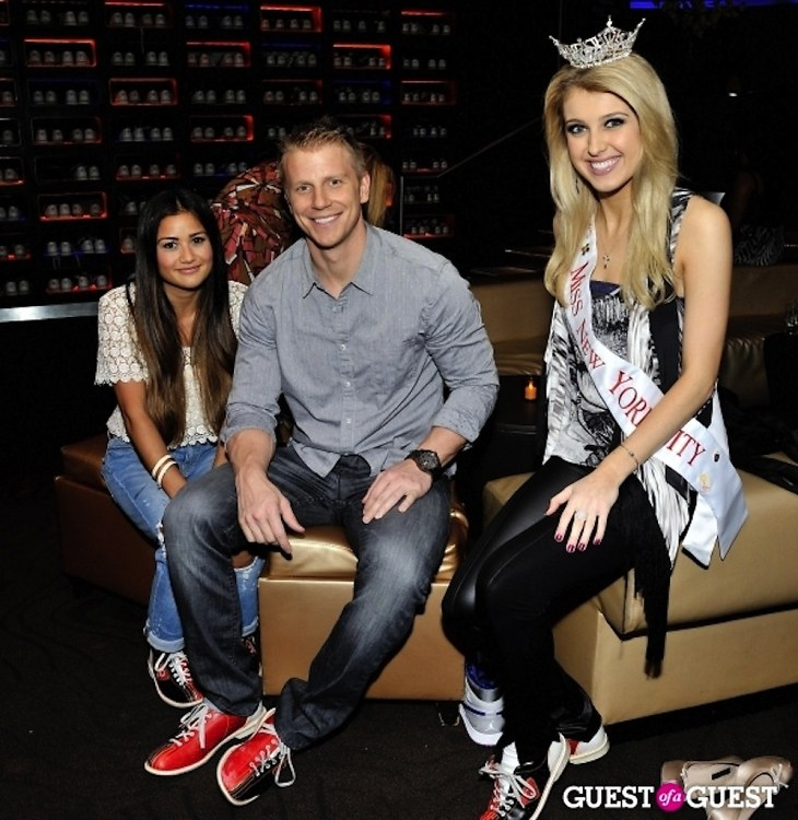Catherine Giudici, Sean Lowe, Acacia Courtney