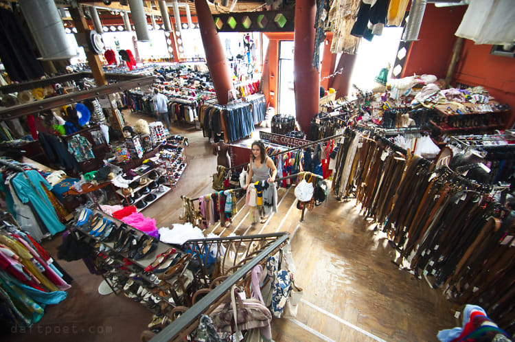 L A S Top 7 Thrift Shops For Clothing Scores