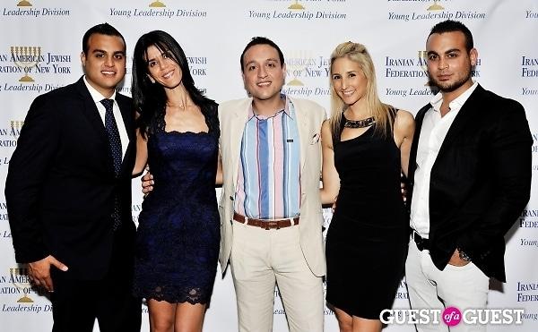Kevin Shokrian, Jessica Weiss, David Shokrian, Rebecca Hirsch, Eddie Shokrian