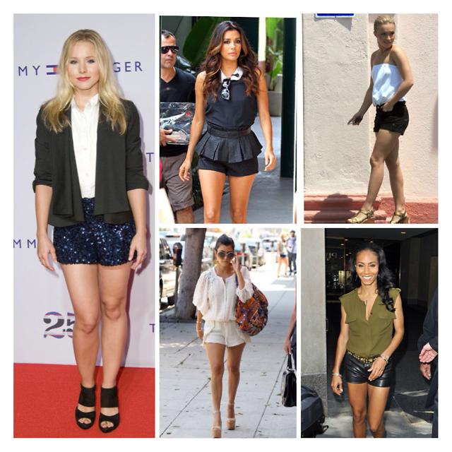 Kristen Bell, Eva Longoria, Hayden Panettiere, Jada Pinkett-Smith, Kourtney Kardashian
