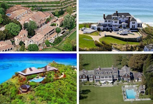 Celebrity Summer Homes