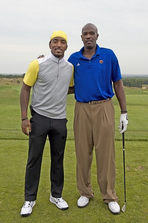 J.R. Smith and Herb Williams