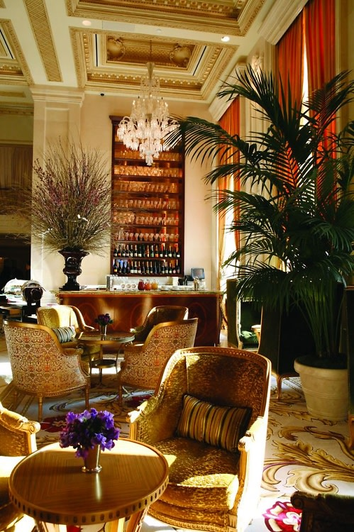 Champagne Bar at The Plaza Hotel