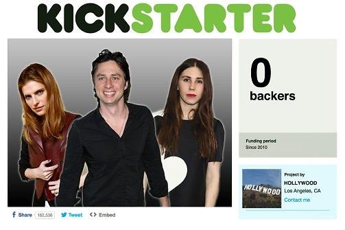 Celebrity Kickstarter