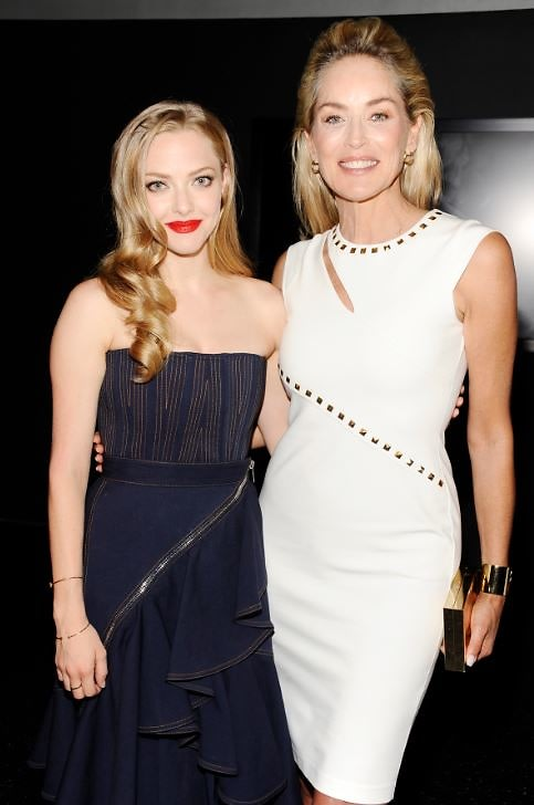 Amanda Seyfried, Sharon Stone