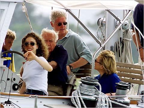 Chelsea Clinton, President Clinton, Hillary Clinton