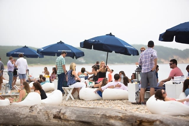 The American Summer Riviera Weekend with Chandon at Navy Beach