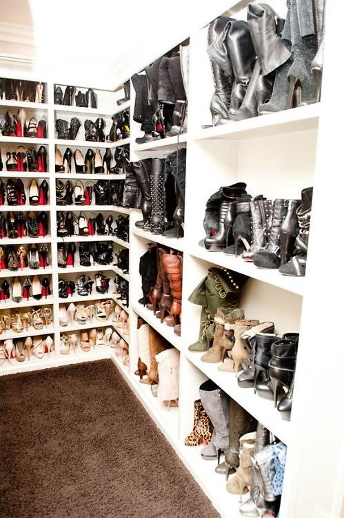 A Peek Inside The Most Extravagant Celebrity Closets