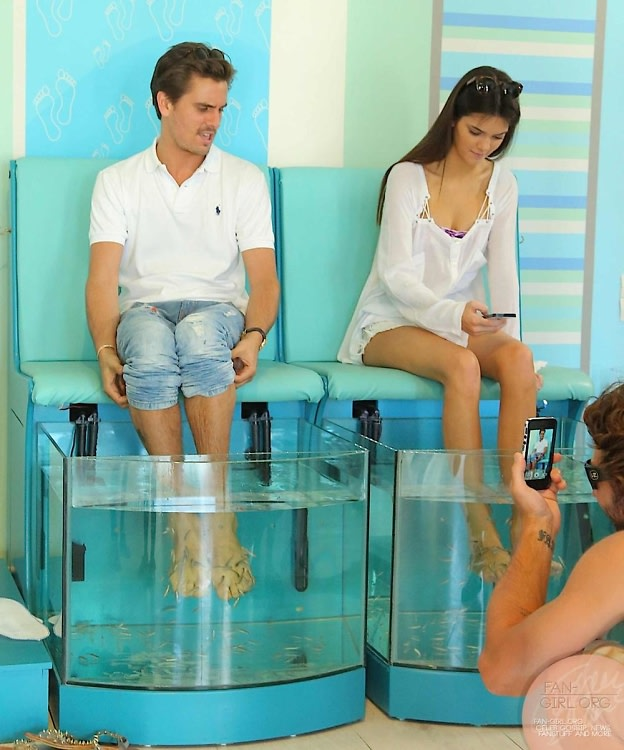 10 bizarre celebrity beauty treatments for Fish pedicure los angeles