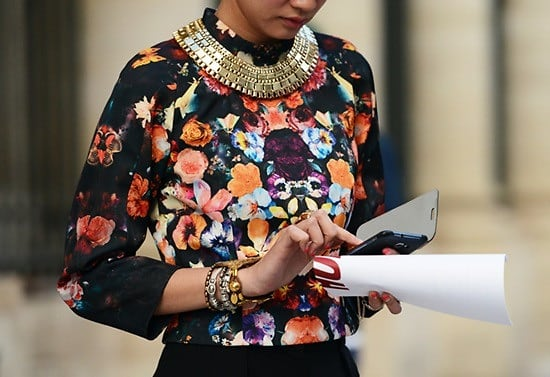 Necklace Street Style