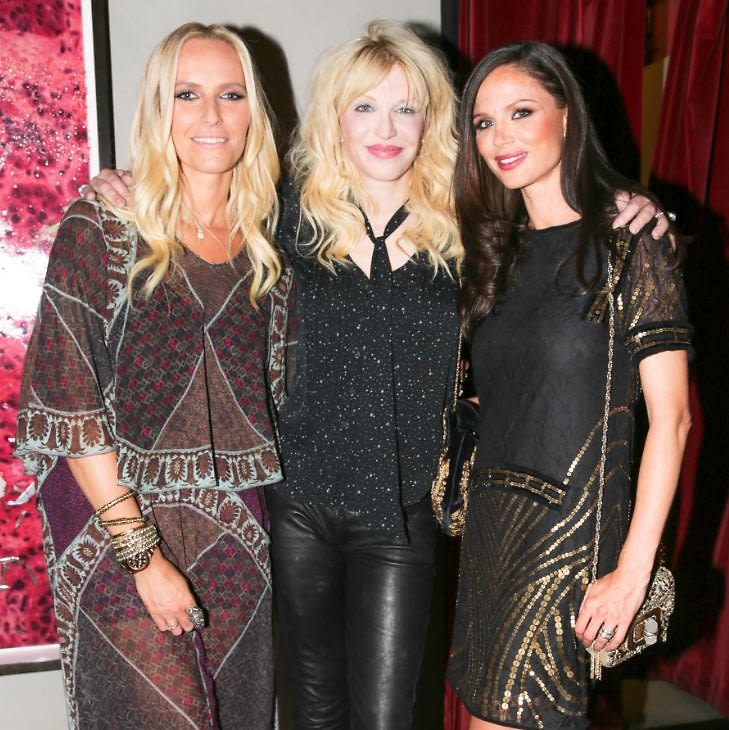 Keren Craig, Courtney Love, Georgina Chapman