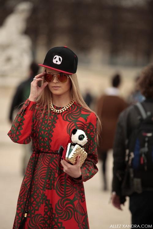 Panda Bear Street Style