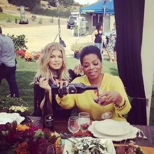 Fergie, Oprah