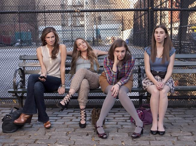 Allison Williams, Jemima Kirke, Lena Dunham, Zosia Mamet